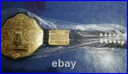 WWF WCW BIG Gold Wrestling Championship Belt Brass Plated 2mm