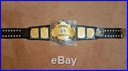 WWF WWE Classic Gold Winged Eagle Championship Belt Adult Size