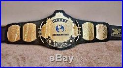 WWF / WWE Classic Gold Winged Eagle Championship Belt. FREE US SHIPPING