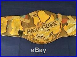 WWF WWE Hardcore Championship Replica Belt Figures Toy Co 2010