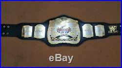 WWF World TAG TEAM Wrestling Championship Belt. Adult Size. Dual plated