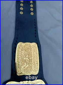 Wcw United States Heavyweight championship Belt Replica, Old school Belt, 4mm zinc