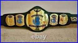 Wcw World Heavyweight Championship Replica Belt 2mm Brass Adult Size