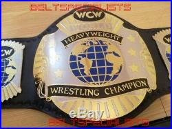 Wcw World Heavyweight Wrestling Championship Adult Replica Belt 2mm Brass