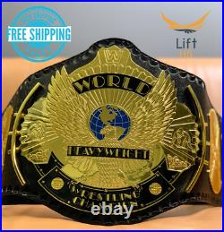 Winged Eagle Championship REPLICA Tittle Belt ADULT SIZE Brass 2MM NEW
