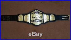 World 6 six Man TAG TEAM Wrestling Championship Belt. Adult Size