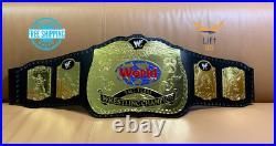 World TAG TEAM Wrestling Championship Replica Tittle Belt 2mm Adult Size NEW