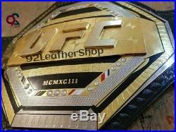 World Ufc Legacy Championship Belt // Adult Size // Leather (Replica)