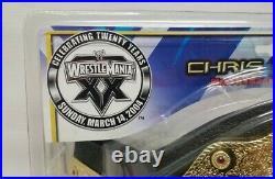 WrestleMania XX 20 Chris Benoit World Heavyweight wrestling championship belt