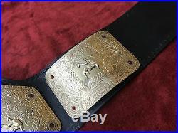 Wrestling Championship Title Belt 4mm Brass Plates