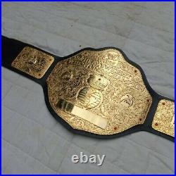 Wwe Big Gold World HeavyWeight Replica Championship Belt, 4mm Zinc Plates