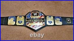 Wwe United States Heavyweight Championship Belt 2mm Brass Adult Free Shipp