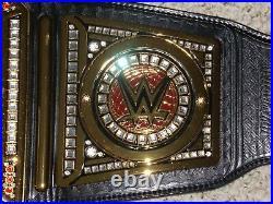 Wwe World Heavyweight Championship Metal Adult Replica Raw Wrestling Title Belt