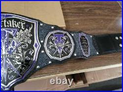 Wwe Wwf Undertaker The Phenom Wrestling Championship Belt Adult Size Replica