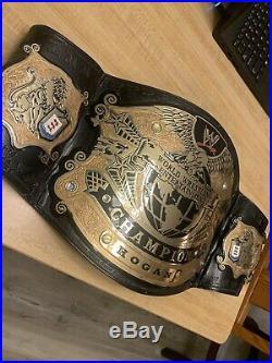 Wwe Wwf V2 Undisputed Championship Replica Belt Rare Figs Inc