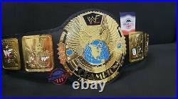 Wwf Attitude Era Big Eagle World Heavyweight Championship Wrestling Belt Title