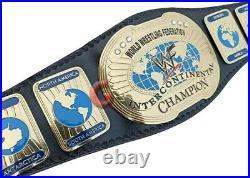 Wwf Attitude Era Oval Intercontinental IC Championship Wrestling Replica Bel