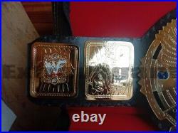 Wwf Attitude Era Scratch Big Eagle World Heavyweight Championship Replica Belt
