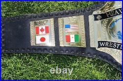 Wwf Hulk Hogan 86 World Heavyweight Wrestling Championship Belt Adult Replica