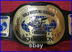 Wwf Intercontinental IC Oval Championship Replica Belt 2mm Brass Adult Size