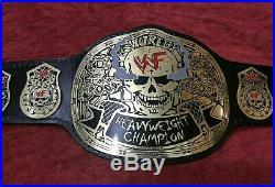 Wwf Stone Cold Smoking Skull Heavyweight Championship Belt