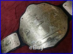 Wwf Wcw Big Gold World Heavyweight Championship Adult Belt Replica