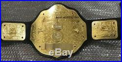 Wwf Wcw Big Gold World Heavyweight Championship Belt Adult